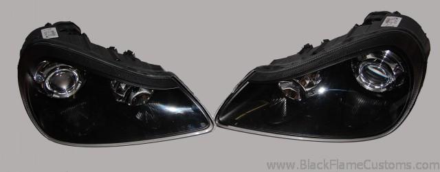 2008 2010 Custom Painted Porsche Cayenne Headlights