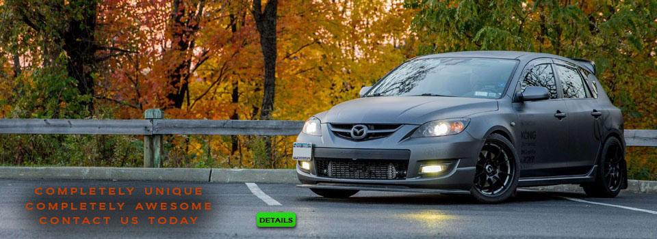 Mazda Speed 3 Custom Headlights