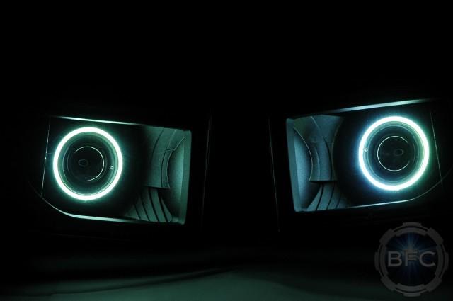 2012 Superduty F250 HID Projector Retrofits Ingot Halo
