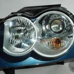 06 Grand Cherokee Midnight Blue Silver Retrofit