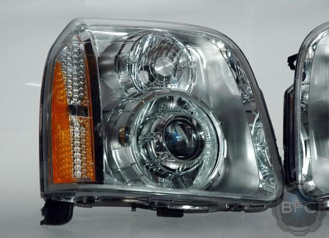 Gmc Yukon Denali >> 2009 GMC Yukon Denali HID Projector Retrofit Headlights ...
