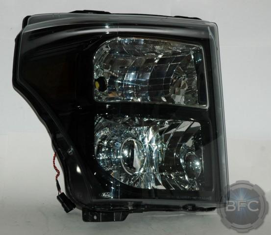 2012 Ford F250 Superduty Black & Chrome LS460R HID ...