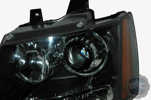 2008 Tahoe HID Projector Conversion Headlight Setup