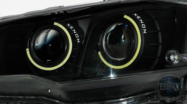 2013 Mitsubishi Evo X Halo Custom Paint Setup