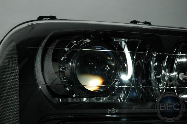 2007 Chevy Trailblazer Hid Projector Retrofits With Black