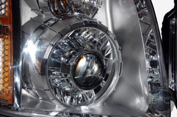 GMC Yukon Denali Chrome Projector Headlights