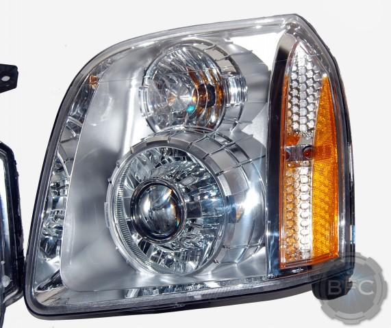 2008 GMC Yukon Denali HID Projector Headlights Package ...
