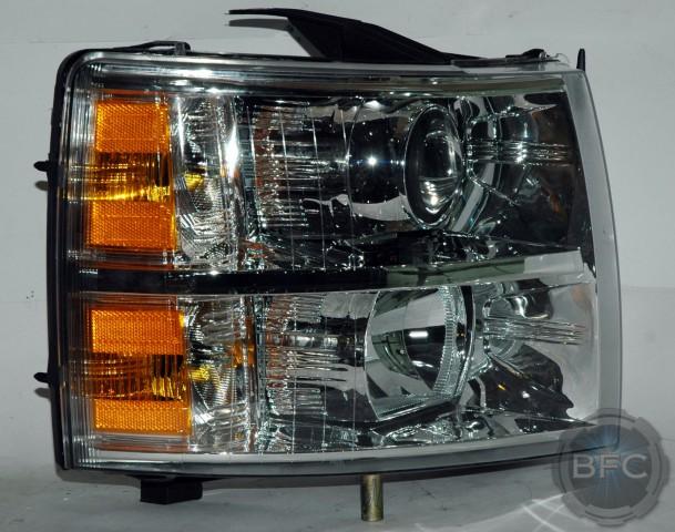 2008 Chevy Silverado Projector Headlights