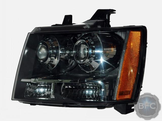 2014 Chevy Tahoe Quad HID Headlights