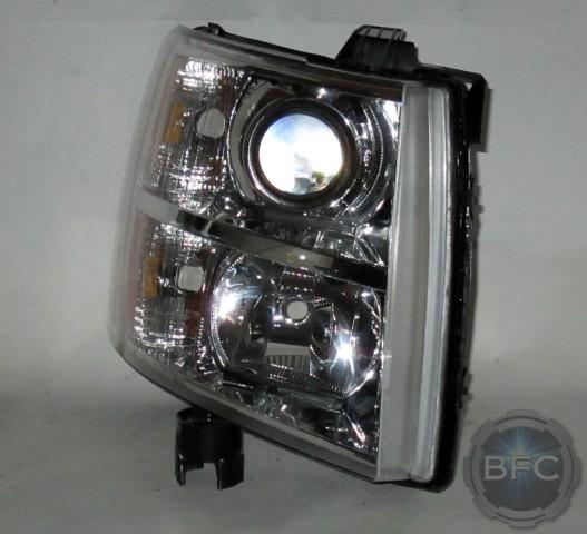 2011 Chevy Silverado HID Projector Conversion Headlights ...