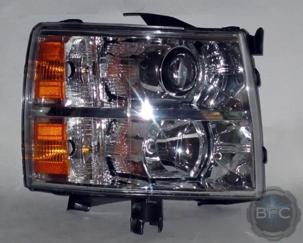 2011 Chevy Silverado Hid Projector Conversion Headlights