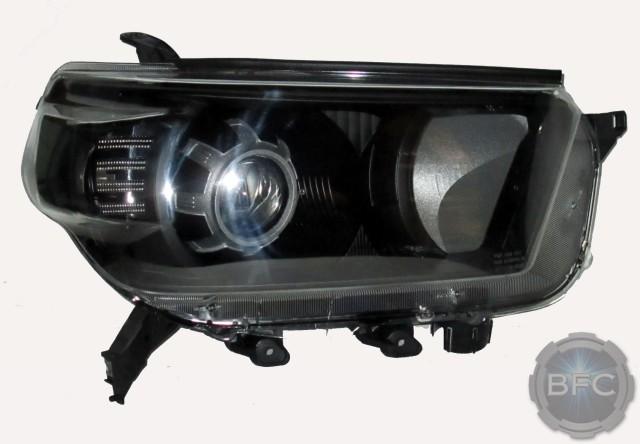 2010 Toyota 4runner Hid Projector Headlights Black