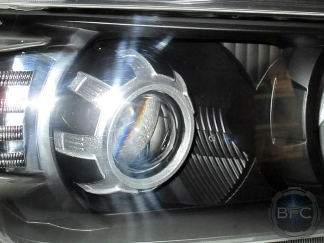 2010 Toyota 4Runner HID Headlights Black Silver