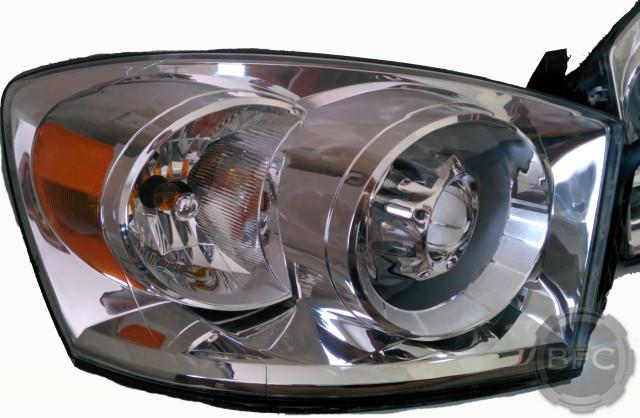 2006 2008 Dodge Ram Complete Hid Projector Headlight