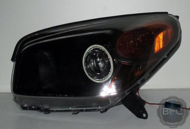 2014 F150 Headlights >> 2004 Toyota Rav4 HID Projector Retrofit Headlight Package | BlackFlameCustoms.com