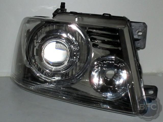 2014 F150 Headlights >> 2007 Ford F150 – Lincoln Mark LT HID Projector Chrome Headlights   BlackFlameCustoms.com