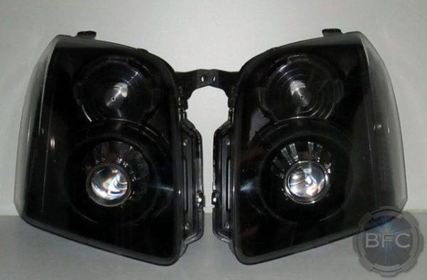 2008 Yukon Black Projector Headlights