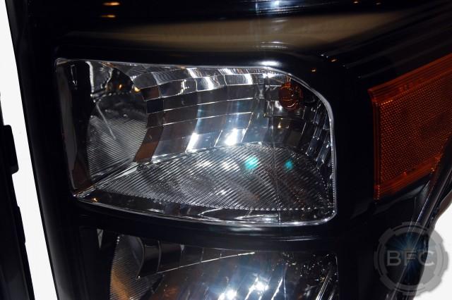 2013 Superduty HD Black Headlights