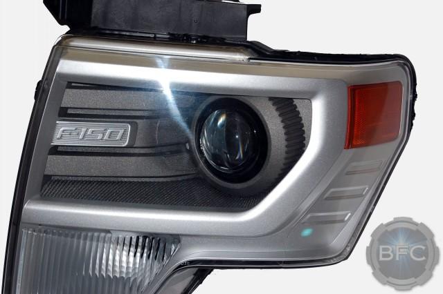 2014 Ford F150 HID Projector Headlights Custom Paint | BlackFlameCustoms.com