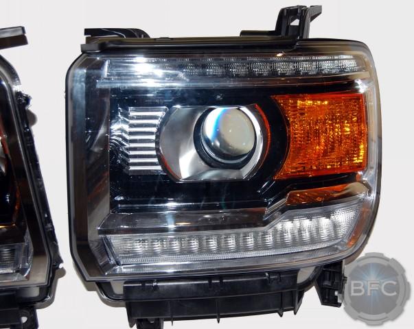 2015 GMC Sierra HID Projector Retrofit Headlight Package ...