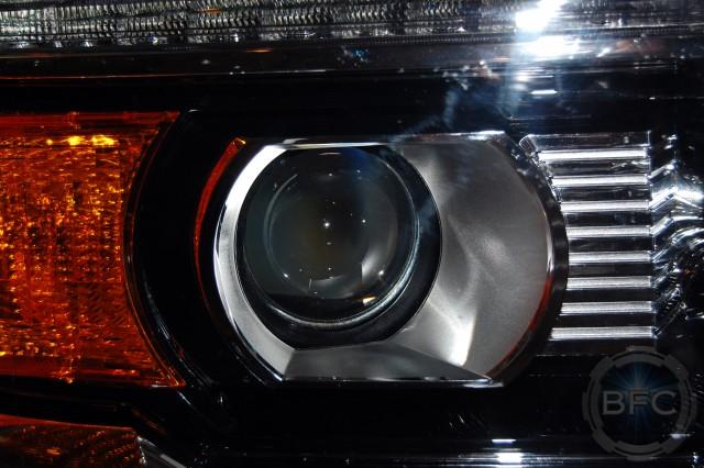 2014-2015 gmc sierra & denali complete hid projector ... 2015 gmc sierra 3500 sle wiring diagrams 2015 sierra headlights hid wiring #2