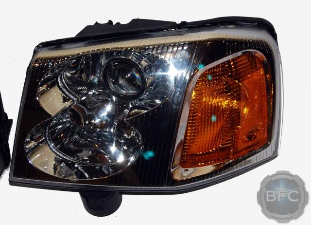 gmc envoy hid projector headlights blackflamecustomscom