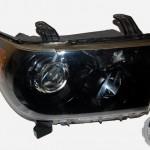 2007 Toyota Tundra Black HID Headlights