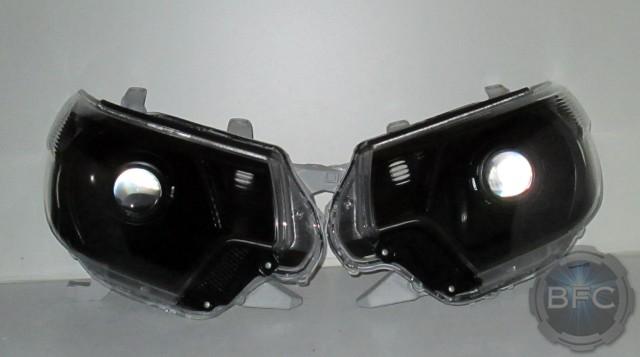 2012 Tacoma HID Black Headlights