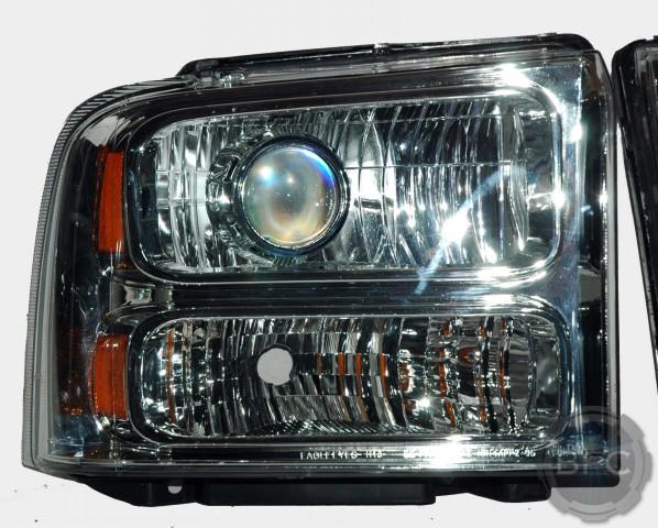 2006 F250 Superduty HID Chrome Headlights