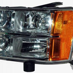 2010 GMC Sierra HID Headlights