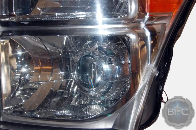 2011 Ford Superduty Chrome HID Headlights OEM