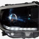2014 Toyota Tundra Black HID Projector Headlights