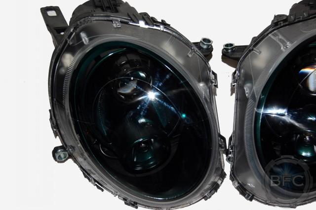 2018 Ford Super Duty >> 2009 Mini Cooper British Racing Green HID Projector Headlight Conversion   BlackFlameCustoms.com