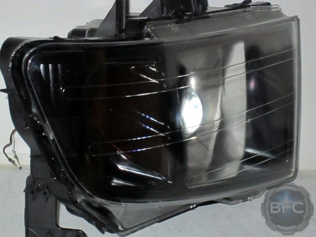 2006-2014 Honda Ridgeline Complete HID Projector Headlight Retrofit Package | BlackFlameCustoms.com