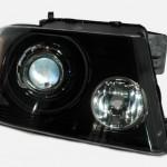 04 F150 Black Chrome Apollo HID Projector Headlights