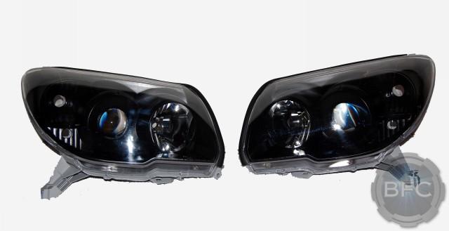 06 Toyota 4Runner Black HID Headlights