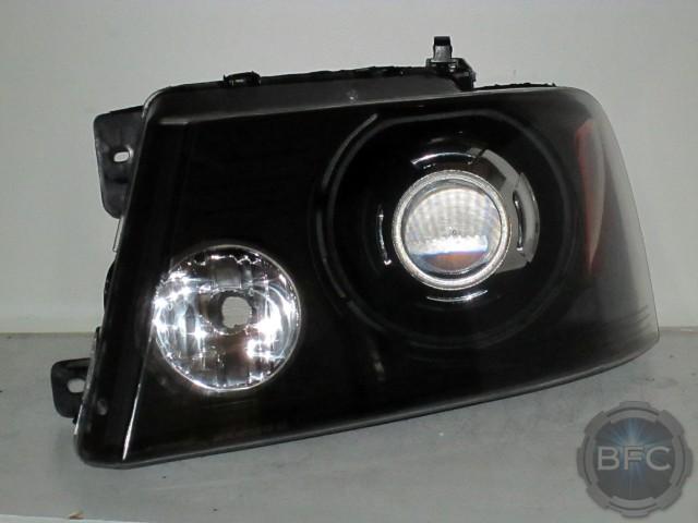 2014 F150 Headlights >> 2007 F150 Black Chrome HID Projector Retrofit Conversion ...