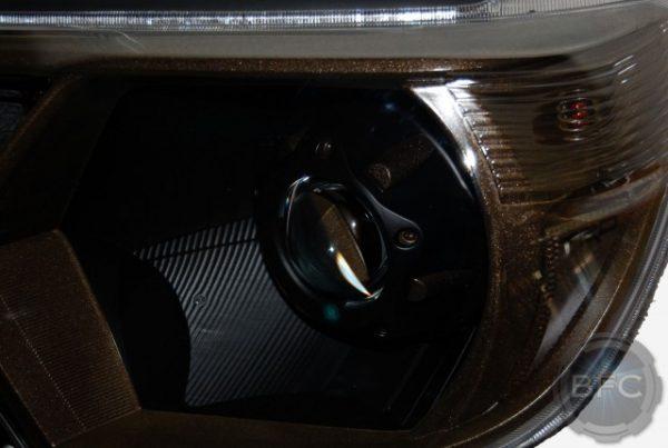 2015 Toyota Tacoma TRD Black & Bronze HID Headlights