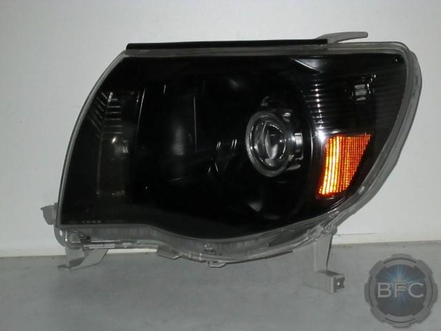 Black Chrome Paint Headlights