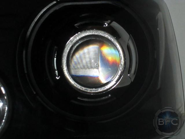 2007 F150 HID Black Clear Chrome Headlights