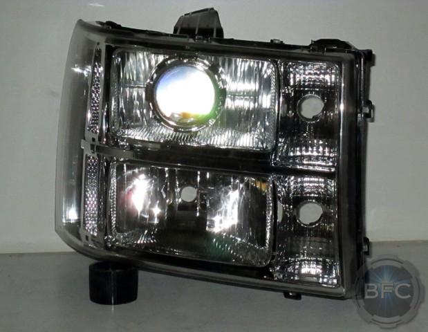 2011 GMC Sierra Chrome HID Projector Headlight Package