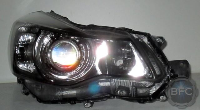Toyota Tacoma Headlights >> 2014 Subaru Crosstrek HID D2S Projector Headlight Housings | BlackFlameCustoms.com