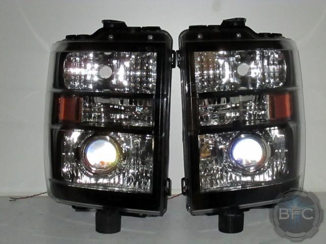 2012 Ford E 350 Van Hid Projector Headlights