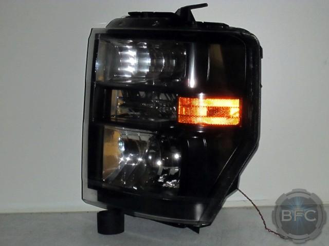 Ford F150 Headlights >> 2012 Ford E-350 Van HID Projector Headlights | BlackFlameCustoms.com