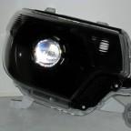 2015 Toyota Tacoma TRD Black Chrome Silver HID Headlights