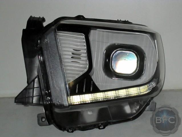 2015 Tundra Black White Headlights HID