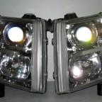 09 Chevy Silverado Chrome HID Retrofits