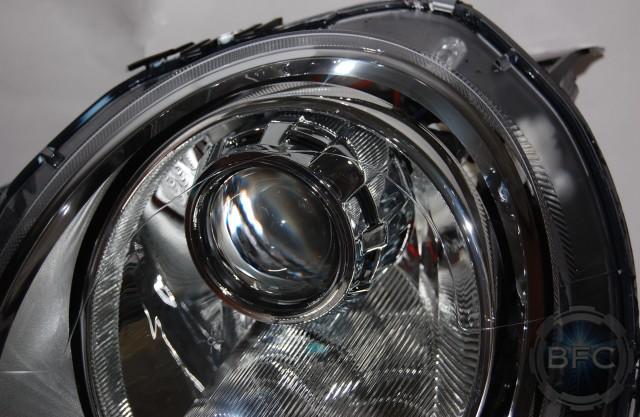 2012 Mini Cooper S Chrome Hid Projector Headlights