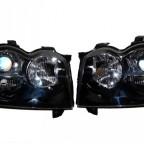 07 Grand Cherokee SRT-8 Black Chrome HID Headlights