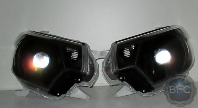 2014 Toyota Tacoma TRD Magnetic Grey HID Headlights